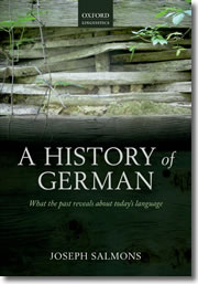 A History of German - book